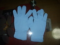 Blue Color Nitirle Examination Gloves