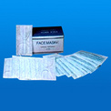 3-Ply Disposable Non-Woven Face Mask with Tie-On