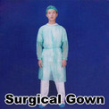 PP Surgical Gown with Knitted Wrist(D533)