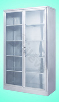 S. S. Apparatus Cupboard Hospital Bed (SLV-D4010)
