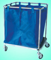 Trolley for Dirty Article Hospital Bed (SLV-C4026)
