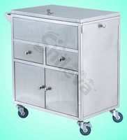 Emergency Treatment Cart Hospital Bed (SLV-C4009)