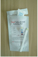 One step rapid medical diagnostic test,Saliva Alcohol Test Strip