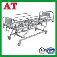 stainless steel rescue bed