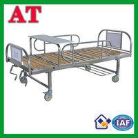 triple-folding medical bed