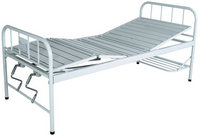 Spray triple-folding medical bed