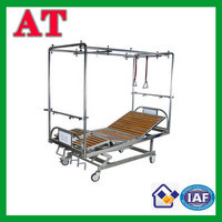 stainless steel maltifuctional traction bed