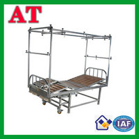 stainless steel five function traction bed