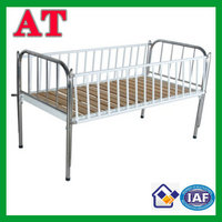 children bed with stainless steel bedhead