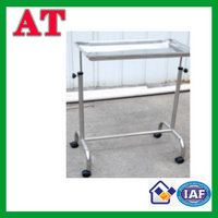 double-beam mayo table / surgery tray trolley