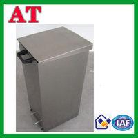 square waste bin