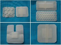 non-woven adhesive wound dressing