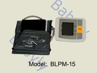 Upper arm style blood  pressure  monitor BLPM-14-1