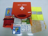 car first aid kit  plastic  first aid box