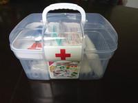 first aid box  transparent plastic first aid box