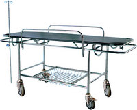 S. S. Stretcher With Four Castors Hospital Bed