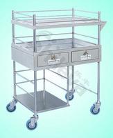 Dressing & Medicine Change Cart Hospital Bed (SLV-C4018)