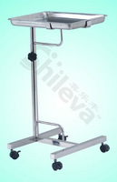 Tray Stand With One Post Hospital Bed (SLV-C4021)