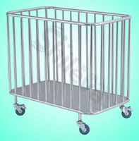 Trolley For Dirty Clothes Hospital Bed (SLV-C4027)