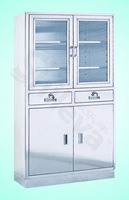 S. S. Apparatus Cupboard Hospital Bed (SLV-D4014)